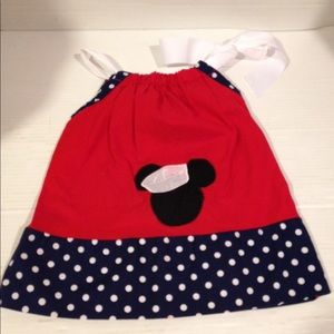 Mickey Mouse sailor Duffy pillowcase ribbon dress